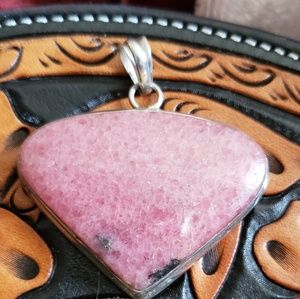 Pink Necklace Pendant
